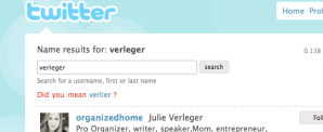 """Wer in Twitter nach """"Verleger"""" sucht, dem wird """"Verlierer"""" vorgeschlagen..."""