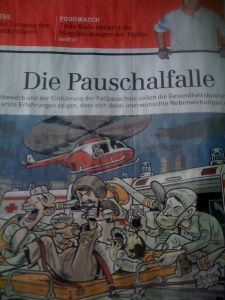 Exklusiv in der Sonntags Zeitung: Gegen die Fallpauschalen...