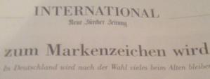 """Detail 2: Einzig """"International"""" hat keine Anrisse unter dem Seitenkopf..."""