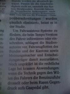 Das wird ja lustig: GPS in den Autos der Schweizer Prominenz, um deren Fahrweise per Big Brother zu überwachen.