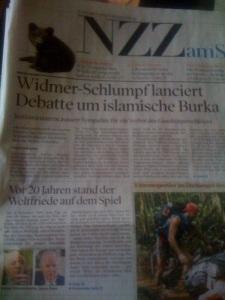 NZZ Burka Widmer Schlumpf