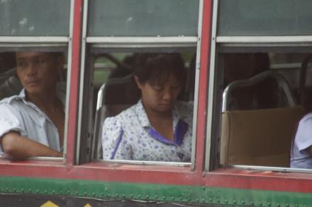 Bus in Bangkok VII